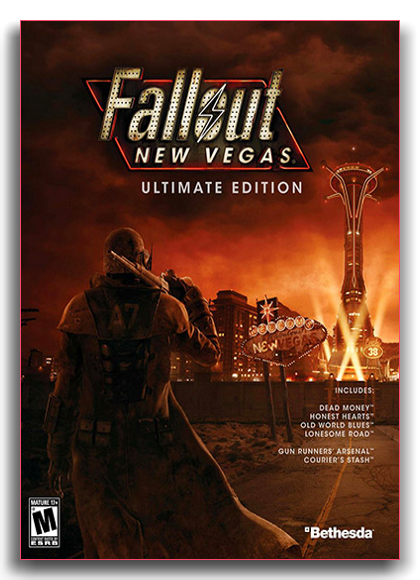 Fallout: New Vegas - Ultimate Edition (v. 1.4.0.525) (RUS|ENG) [RePack] by xatab